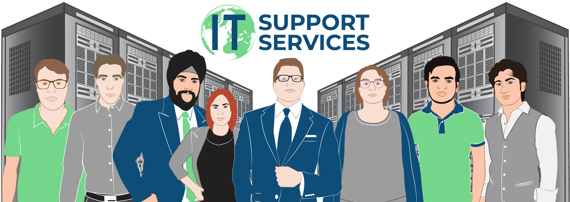 International IT Support Services Limited Team